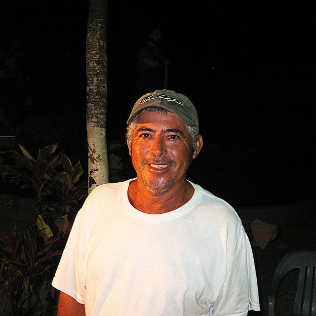 mestizo man in Belize