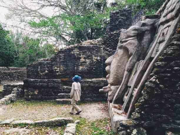 Lamanai's mask temple