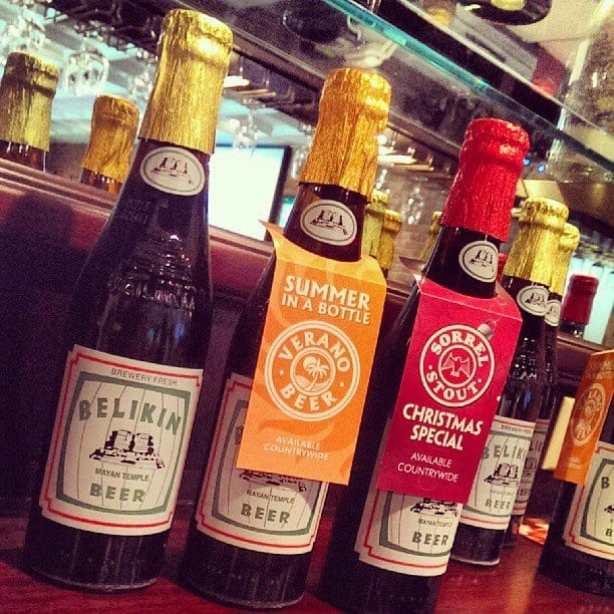 Seasonal Belikin Beers. Chocolate Stout, Verano Beer, Sorrel Stout