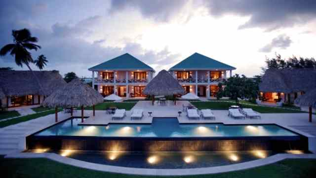 Victoria House is an elegant resort in Ambergris Caye