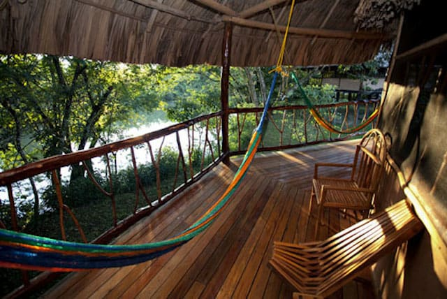 hammock in Toledo Belize
