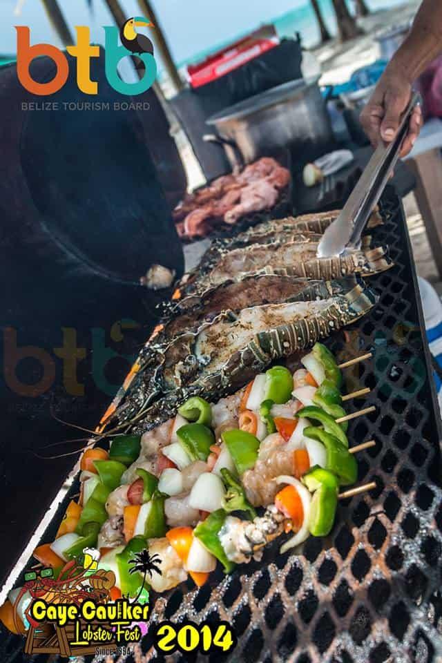 grilled lobster belize