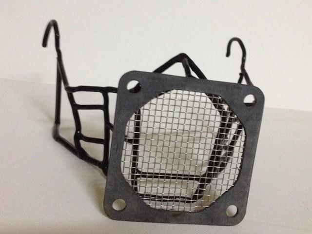 hannibal caged mask by Inga Woods