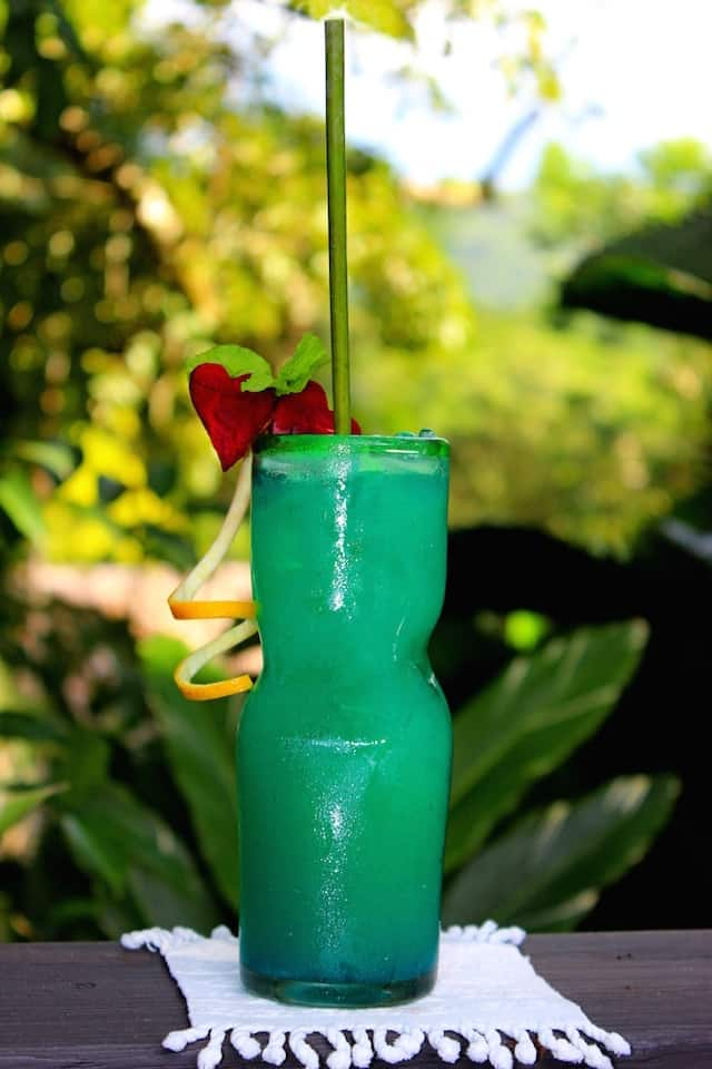 Blue Morpho Belizean drink