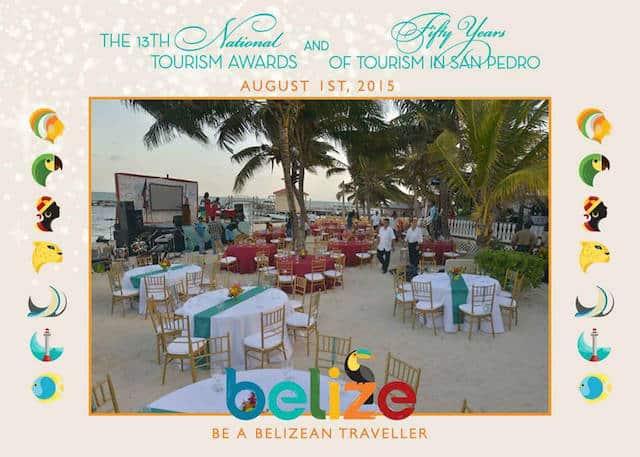 Belize tourism awards 2015