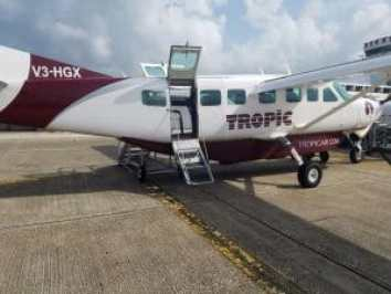 plane transfers tropic air belize