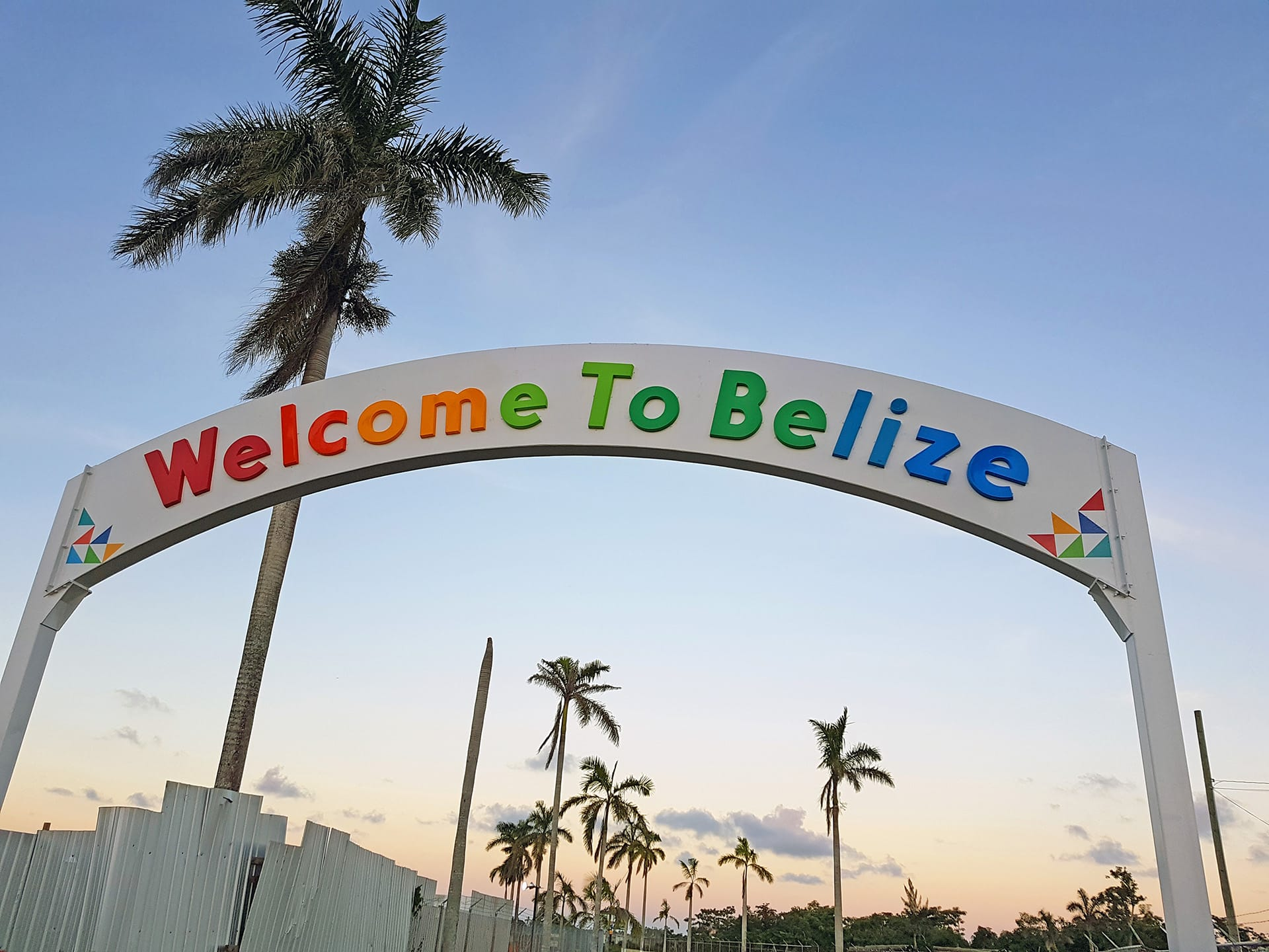 welcome to Belize airport shuttle