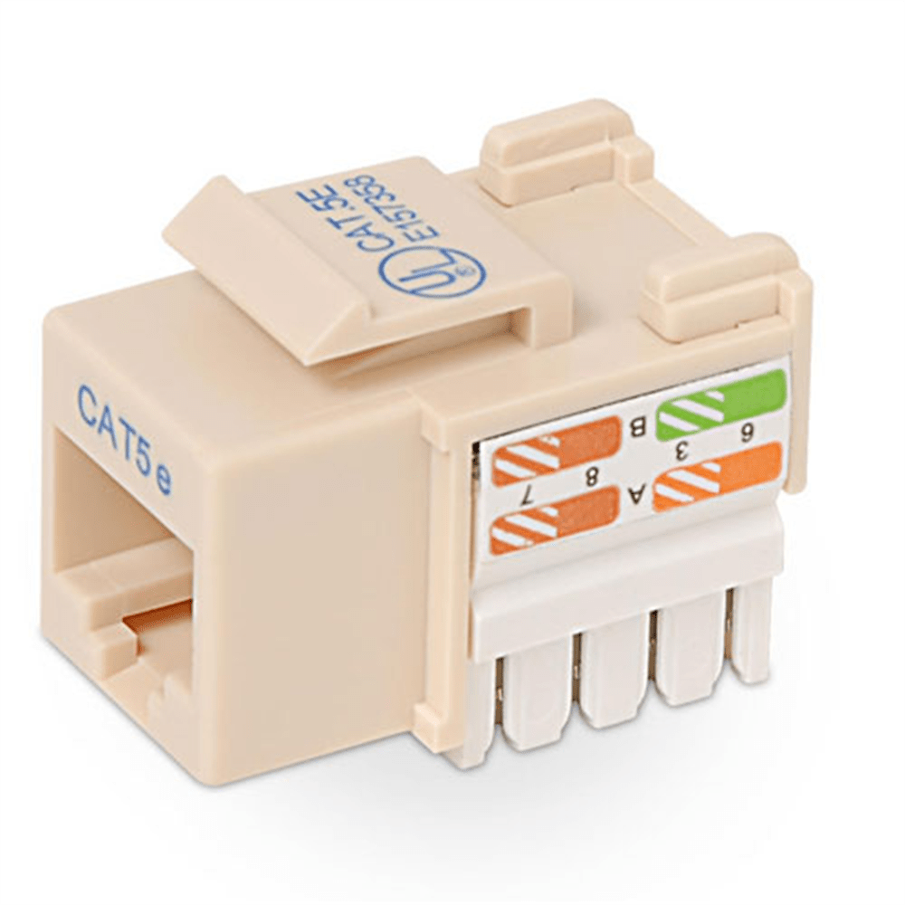 medium resolution of cat5e modular keystone jack pack of 25 heroimage