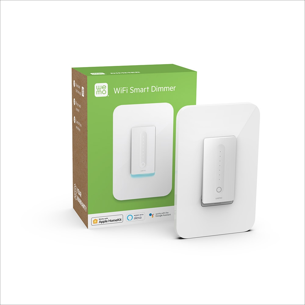 medium resolution of  wemo wifi smart dimmer frontviewimage
