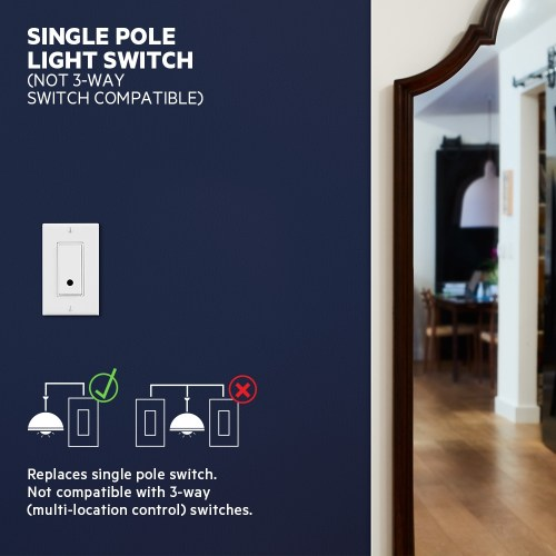 small resolution of  wemo smart light switch frontviewimage