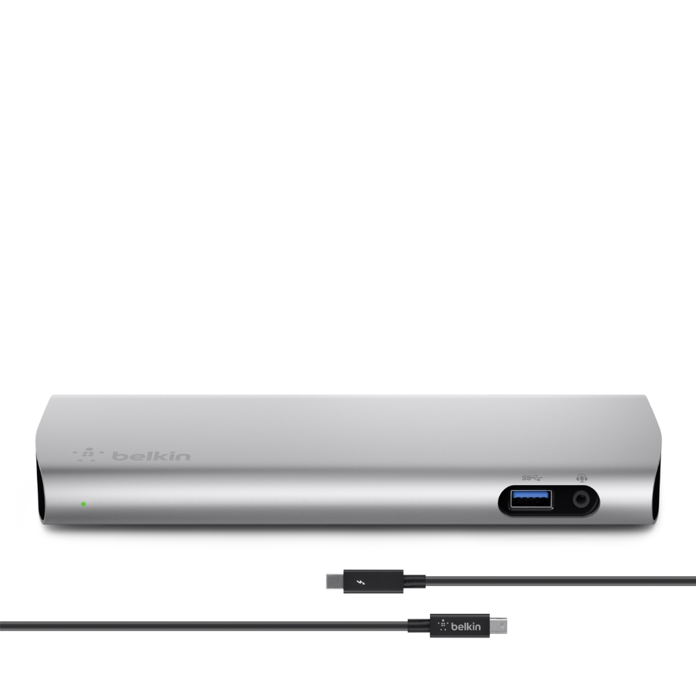 medium resolution of thunderbolt 2 express dock hd with cable heroimage