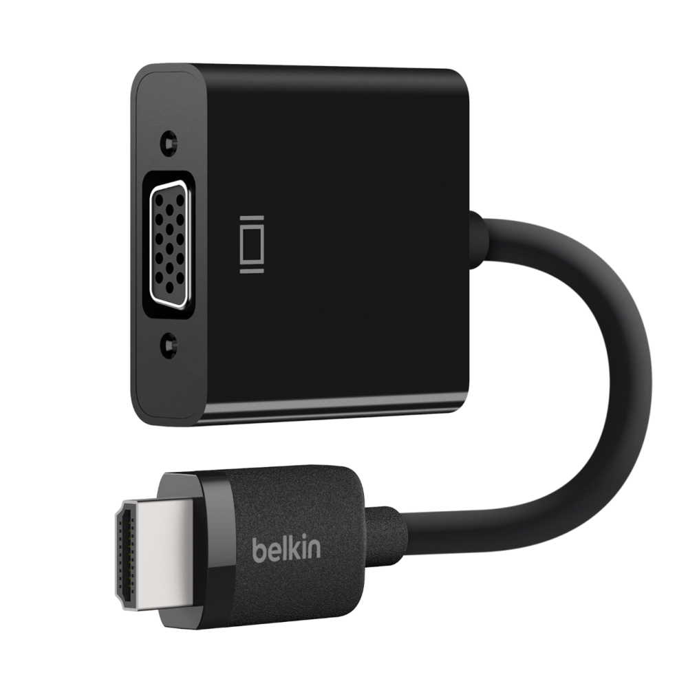 medium resolution of belkin hdmi to vga adapter with micro usb powerhdmi to vga adapter with micro