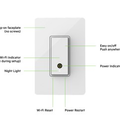 How To Wire A Light And Switch Diagram Electron Dot Worksheet With Answers Wemo Wi Fi Smart Belkin