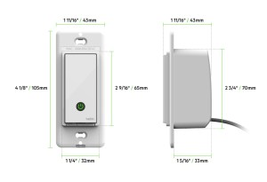 Wemo® WiFi Smart Light Switch