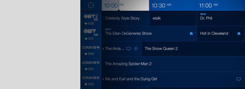medium resolution of browse the programming guide effortlessly with siri remote s touch surface