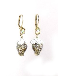 Betsey Johnson Jewelry I Dream Of Betsey Skull Drop