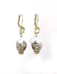 Betsey Johnson Jewelry I Dream Of Betsey Skull Drop ...