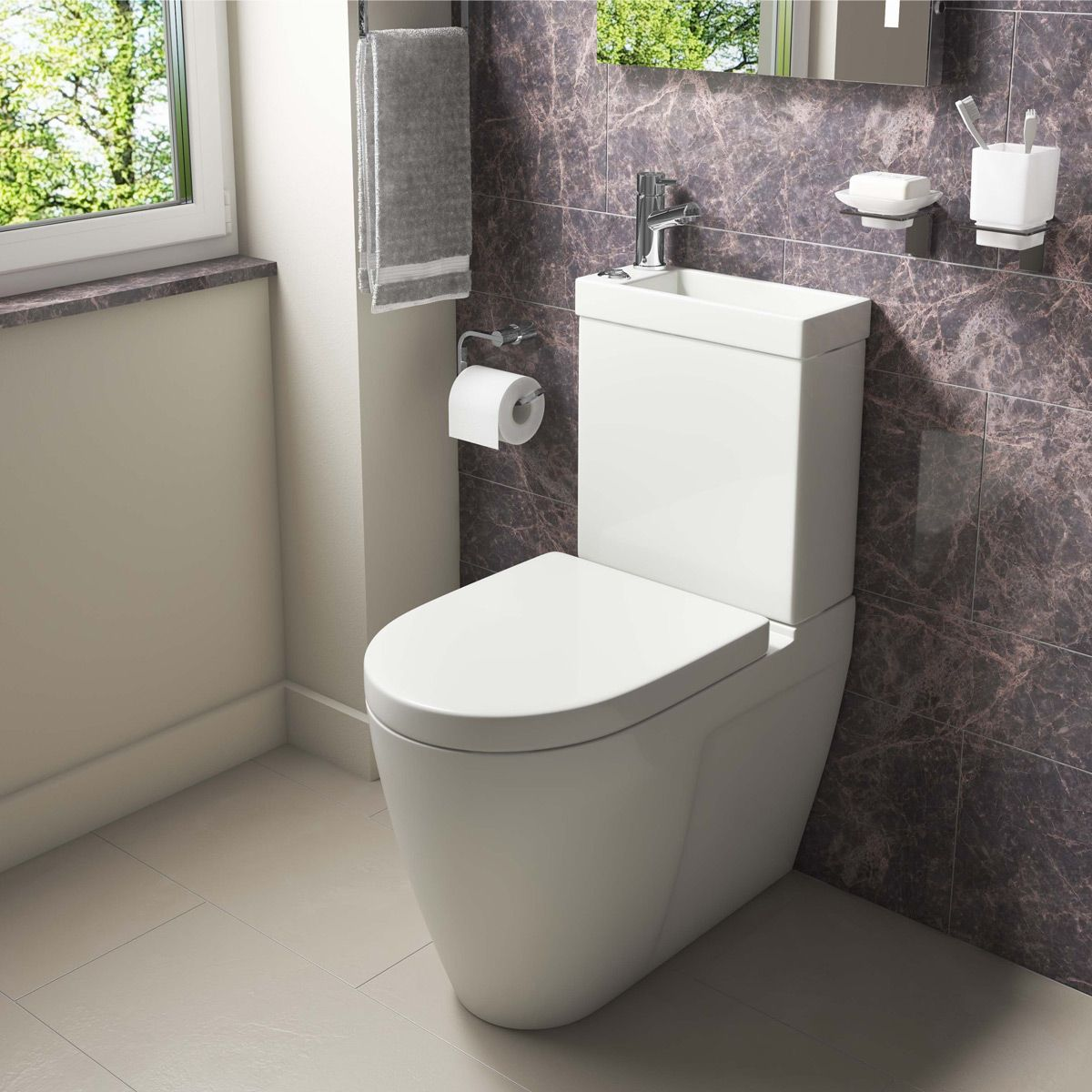 kartell mini combo 2 in 1 toilet and basin