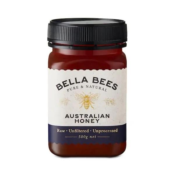 Bella Bees Eucalyptus Honey SKU AABBH10007