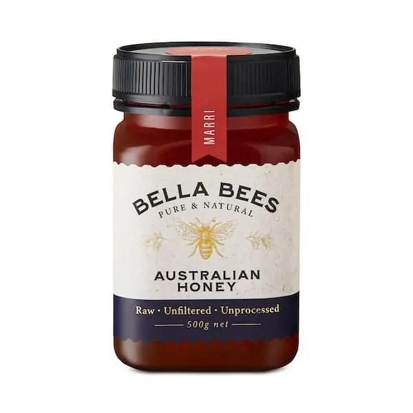 Bella Bees Marri Red Gum Honey SKU AABBH10005
