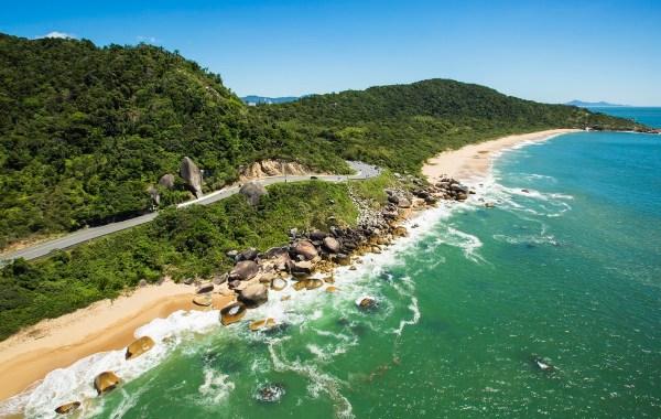 Praias Agrestes de Balneário Camboriú