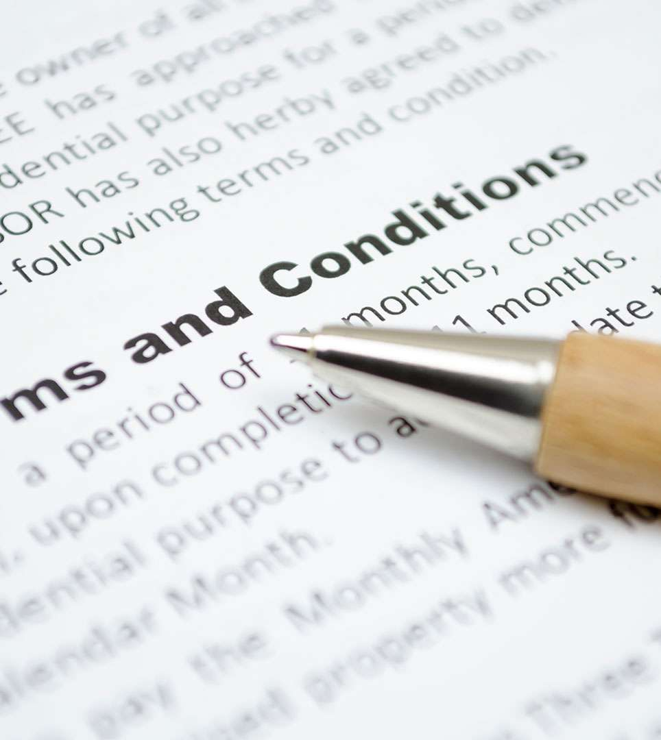 hight resolution of  terms conditions for the bella capri inn suites website