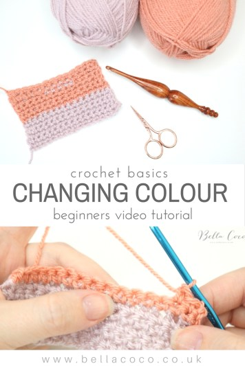 How to change colour in Crochet
