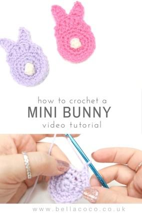 Mini Bunny Applique
