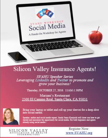 Sandy Jones-Kaminski presents social media to SVAHU members