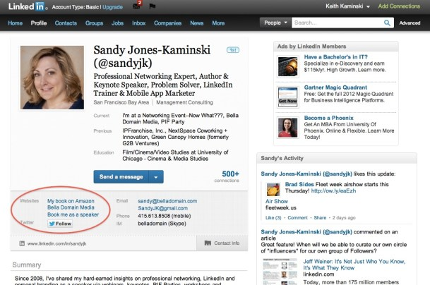Website Links on Your LinkedIn Profile: Are yours working