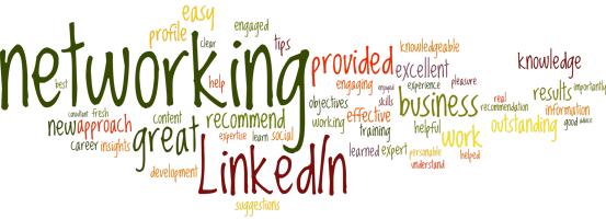 Sandy's LinkedIn Recommendations Cloud