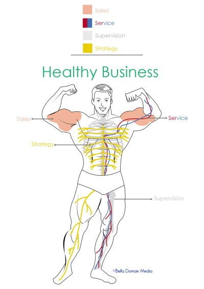 Healthy Business is like a healthy body