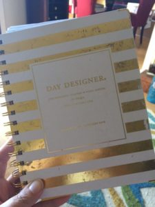 The well-worn cover of my Day Designer