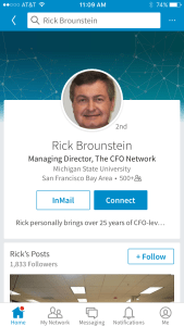 Personalize your invite to connect via LinkedIn mobile