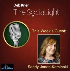 Sandy Jones-Kaminski discussing Content Marketing Matters