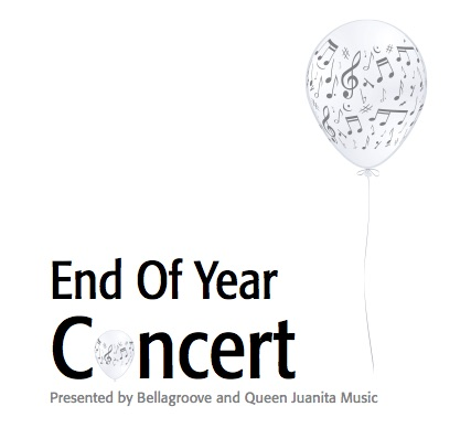 End of year Concert Poster