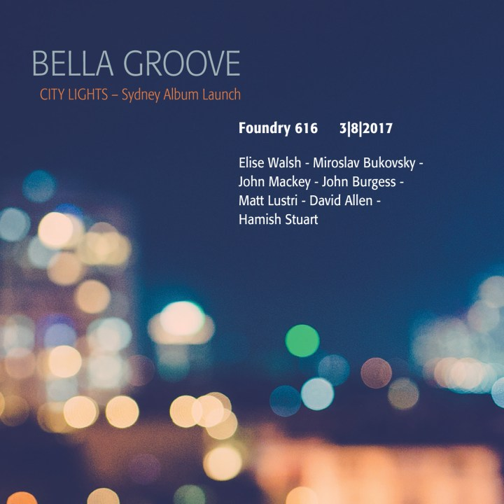 Bella Groove plays The Foundry 616 in August 2017