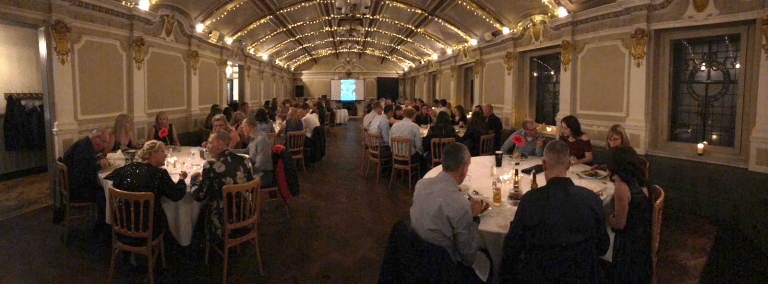 2019 Awards night panorama