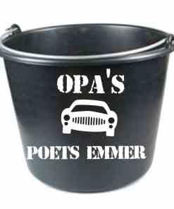 Opa's/ papa's auto poets emmer - vaderdag cadeau - Vaderdag cadeau - Cadeau papa - Cadeau opa - gepersonaliseerd cadeau