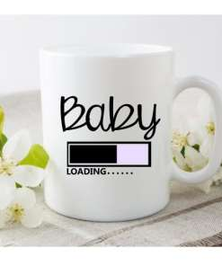 Baby is loading |Koffie - Thee mok