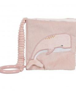 Little Dutch Buggyboekje Ocean Pink - Kraam cadeau - geboorte cadeau - gepersonaliseerd speelgoed- Naam cadeau