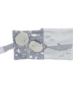 Little Dutch Buggyboekje Ocean Blue - Kraam cadeau - geboorte cadeau - gepersonaliseerd speelgoed- Naam cadeau