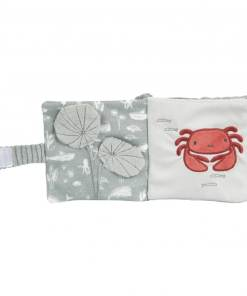 Little Dutch Buggyboekje Ocean Mint - Kraam cadeau - geboorte cadeau - gepersonaliseerd speelgoed- Naam cadeau