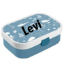 Little Dutch - Lunchbox Ocean - met naam - Kinderservies met naam - Geboorte cadeau - Gepersonaliseerde cadeaus