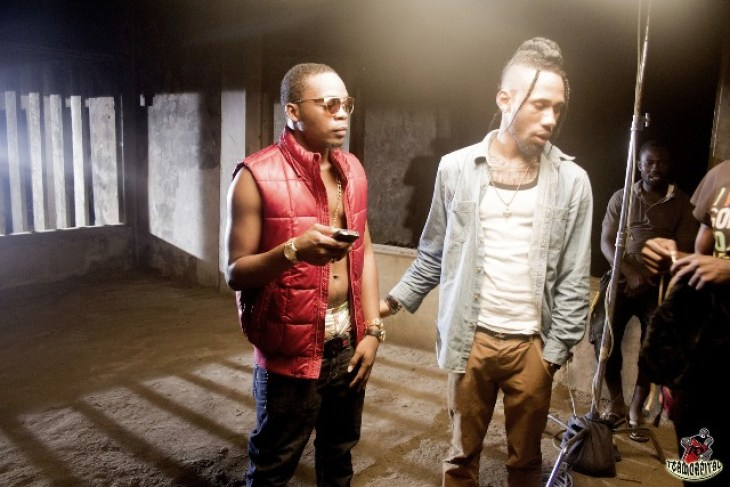"BN Exclusive: Phyno & Olamide gear into ""Ghost Mode""! View Behind ..."