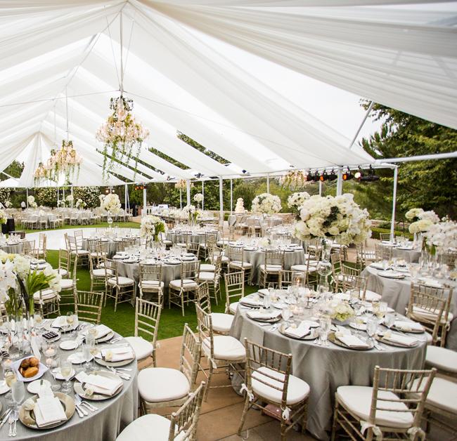 BN Wedding Dcor Outdoor Wedding Receptions