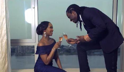 So in Love! Watch Paul Okoye & Anita Isama's Pre-Wedding Shoot Behind the  Scenes Video   BellaNaija