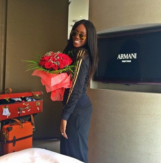 Tiwa Savage - April 2014 - Dubai Wedding - BellaNaija.com