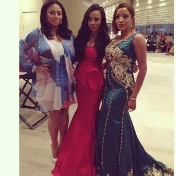 Lola Omotayo-Okoye, Toke Makinwa & Freda Francis