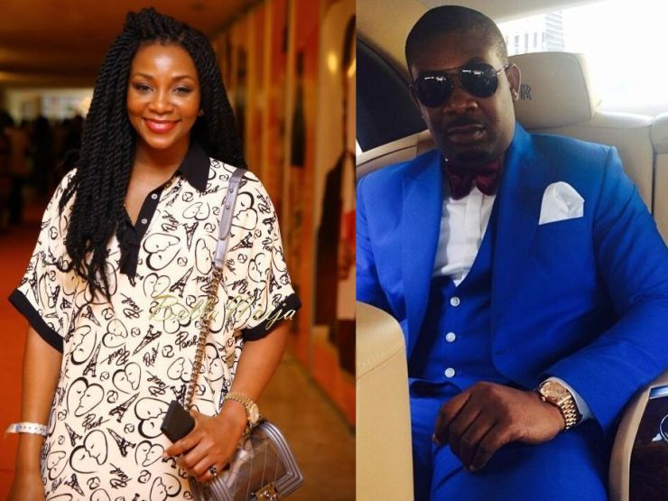 Genevive Nnaji and Don Jazzy